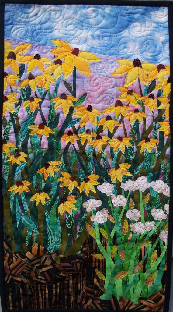 art q - black eyed susans