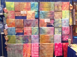Hand dyed display