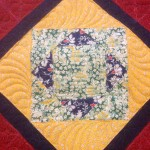 Ugly Orphan Pillow reproduction fabric & custom quilted