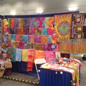 Hand Dyes, Road to Calfornia 2016