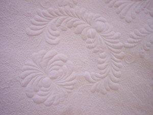 Heirloom - Trapunto quilting